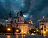 St. Nicolas Church in Prague Stock Photos