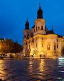 St. Nicolas Church in Prague Royalty Free Stock Image