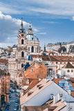 St. Nicolas church in Prague Royalty Free Stock Photos