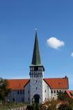 St Nicolas Church, Rønne - Sct. Nicolai Kirke. Bornholms Royalty-vrije Stock Foto's