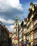 St. Nicolas church's, Prague Stock Photography