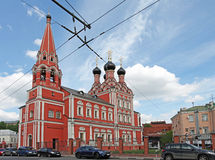 St. Nicolas church in Taganka, Moscow Stock Image