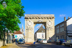 St. Nicolas gate, in Beaune Royalty Free Stock Photos