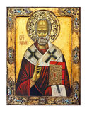St. Nicolas icon Royalty Free Stock Images