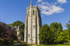 St Nicolas toren BEC-Hellouin royalty-vrije stock afbeelding
