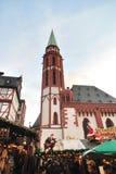 st nicolaus рынка церков рождества Стоковая Фотография