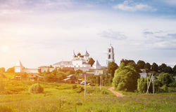 St. Nikita`s monastery. St. Nikita Monastery, the most ancient in the Pereslavl territory, is in the northern part of Pereslavl Stock Photography