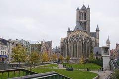 St Niklaaskerk Royaltyfri Fotografi