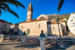St. Nikola church in Perast city Royalty Free Stock Image