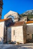 St. Nikola church in Perast city Stock Photography