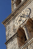 St Nikola kerk in Cavtat, Kroatië Stock Afbeelding