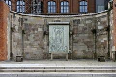 St Nikolai pomnik Zdjęcia Royalty Free
