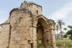 St Nikolas Byzantine Church, Famagusta, Cypern royaltyfria bilder