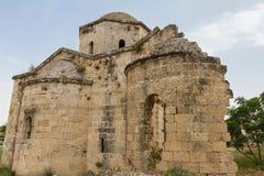 St Nikolas Byzantine Church, Famagusta, Cypern royaltyfria foton