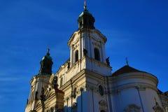 St. Nikolas Church,Old Buildings, Prague, Czech Republic Stock Images