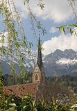 St. nikolaus church, innsbruck, austria Royalty Free Stock Photo