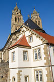 St. Nikolaus church inside Comburg castle Royalty Free Stock Images