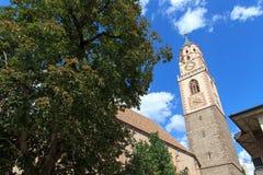 St Nikolaus de Chruch em Meran imagem de stock royalty free