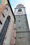 St Nikolaus, Meran della chiesa Fotografia Stock Libera da Diritti