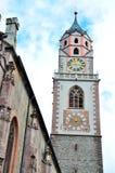 St Nikolaus, Meran della chiesa Immagine Stock