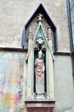 St Nikolaus, Meran della chiesa Immagini Stock