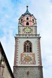 St Nikolaus, Meran della chiesa Fotografie Stock