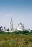 St. Nikolo-Tikhonov monastery. St. Nikolo-Tikhonov monastery in the village timirjazevo Ivanovo region Royalty Free Stock Photo