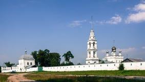 St. Nikolo-Tikhonov monastery. St. Nikolo-Tikhonov monastery in the village timirjazevo Ivanovo region Stock Photo