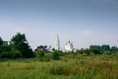 St. Nikolo-Tikhonov monastery. St. Nikolo-Tikhonov monastery in the village timirjazevo Ivanovo region Stock Images