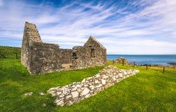 St Ninian`s Chapel, Scotland Stock Photography