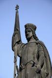 St. Norbert statue on Charles Bridge Royalty Free Stock Photos