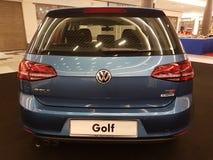 1st Oktober 2016, Kuala Lumpur Volkswagen bilskärm på shoppingkomplexet för toppmöte USJ, Malaysia Royaltyfria Foton