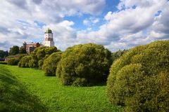 St Olaf castle in Vyborg Stock Photography