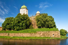 St Olaf castle in Vyborg Stock Photos