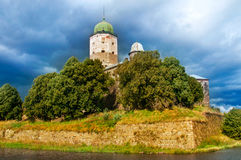 St Olaf castle in Vyborg Royalty Free Stock Photography