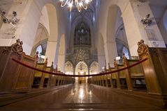 St. Olaf church interior in Tallin, Estonia Stock Photography