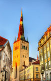 St. Olaf Church in Tallinn Stock Photos