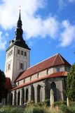 St. Olaf Church, Tallinn Royalty Free Stock Images