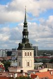 St. Olaf Church, Tallinn Stock Images