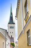 St Olaf (Oleviste) Church. Tallinn, Estonia Royalty Free Stock Images