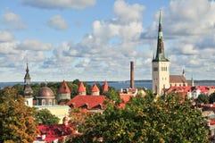 St. Olaf's Church. Old Tallinn Royalty Free Stock Images