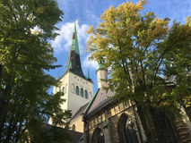 St Olaf`s church Royalty Free Stock Image