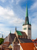 St. Olaf's church, Tallinn Royalty Free Stock Images