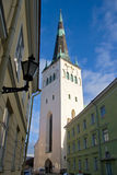 St. Olaf's church. Tallinn. Estonia Royalty Free Stock Images