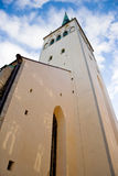St. Olaf's church. Tallinn. Estonia Stock Images