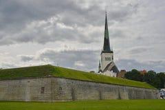 St. Olaf's Church, Tallinn, Estonia. Stock Photography