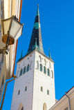 St. Olaf's church. Tallinn. Estonia Stock Photos