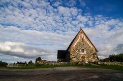 St. Olaf's Church in Tyrvää Stock Photo