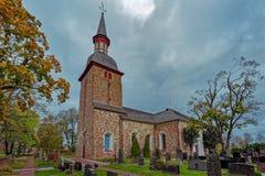 St Olaf S Church Jomala Aland Islands Finland Stock Photo