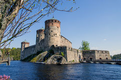 St. Olafs castle Royalty Free Stock Photography